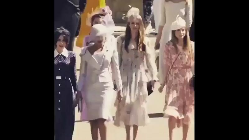 Приянка Чопра прибыла на Королевскую свадьбу
