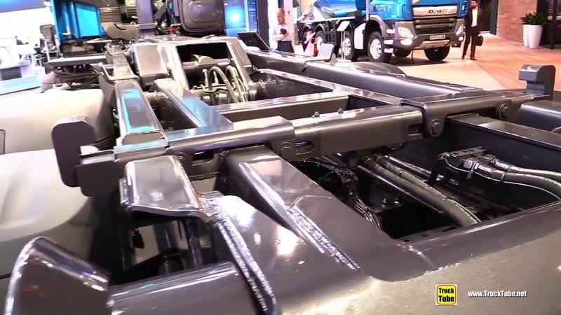 2019 DAF CF 450 FAX 450hp Tractor - Exterior and Interior Walkaround - 2018 IAA Hannover