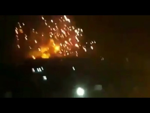 The arms depot of the 47th brigade of the Syrian army was attacked near Hama.