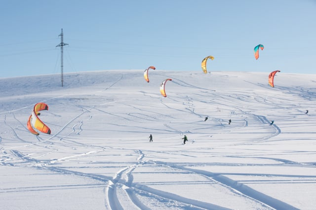 Tundra Snowkite Camp by Surf Point
