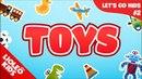 Tiếng Anh cho bé qua Sách Let's go 2 : bé học tiếng Anh về đồ chơi  Lioleo Kids 