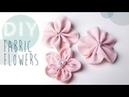 DIY Stoff Blumen selber machen