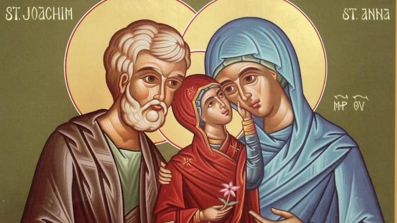 Православный календарь Суббота 22 сентября 2018 г Праведные Богоотцы Иоаким и Анна