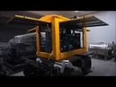Starting Mobile Trailer Generator Set Genset Trial Operation