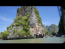 Arriving at James Bond Island. Phuket, Thailand