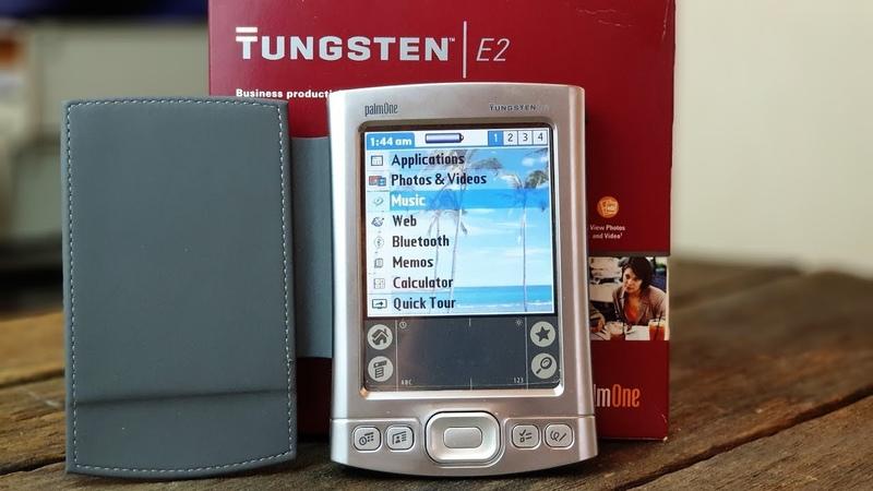 Palm Tungsten E2: мой рабочий КПК – ретроспектива (2005)