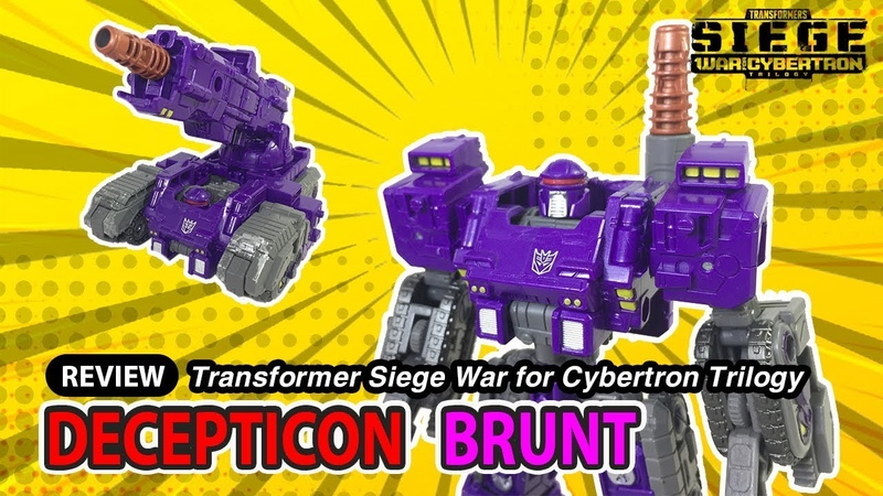 Transformer Siege Deluxe Brunt WFC S25 review