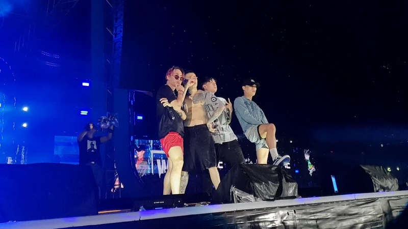 [21.07.2018] Jay Park, pH-1, Sik-K - iffy (WaterBomb Festival 2018)