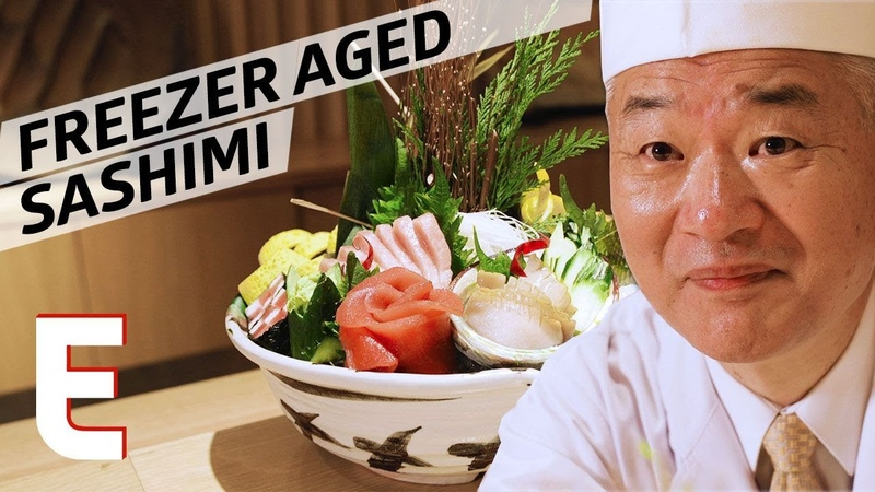 This Sushi Chef Uses a Medical-Grade Freezer to Age His Sashimi — Omakase