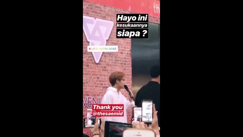 [SNS] [180817] Обновление стори инстаграма WebTVAsia (Индонезия)