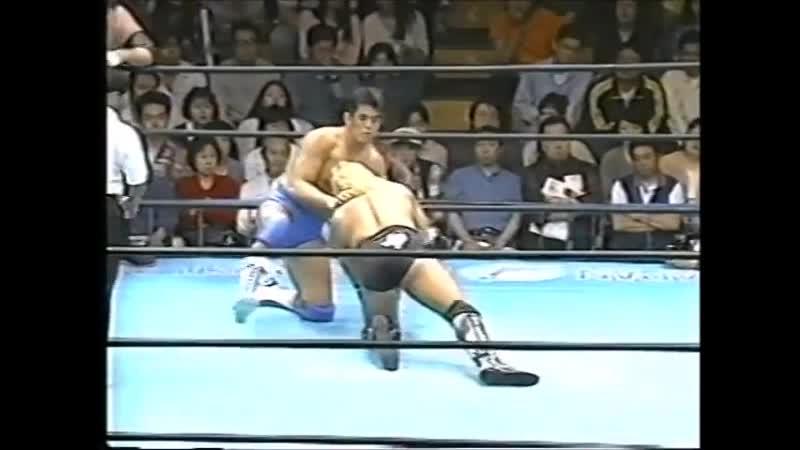 1995.05.20 - Stan Hansen/Bobby Duncum Jr./Rob Van Dam vs. Mitsuharu Misawa/Jun Akiyama/Satoru Asako