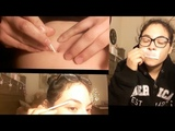 Waxing Mustache + Plucking My Eyebrows + Cleaning My Belly Button