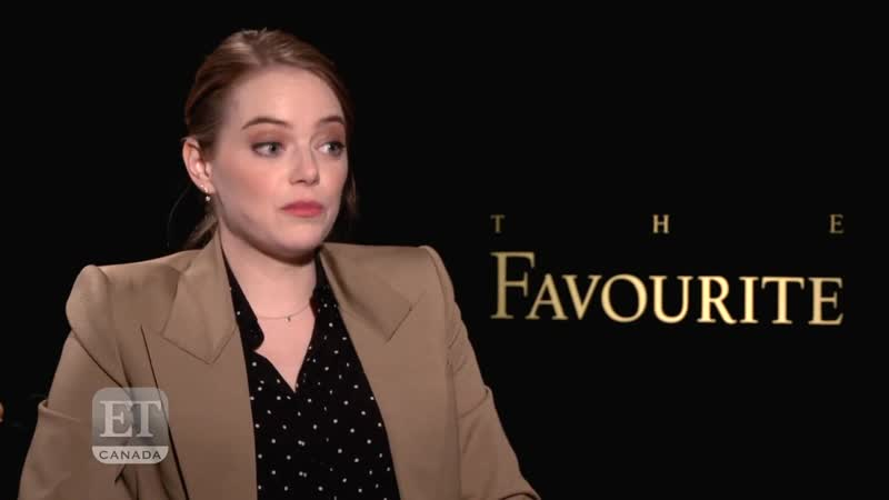 Emma Stone On Jealousy Olivia Colman And The Favourite EXTENDED