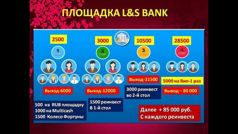 LS Bank Быстрое развитие