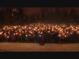 Ежегодный фестиваль бенгальских огней стартовал в парке культуры и отдыха имени Бабушкина