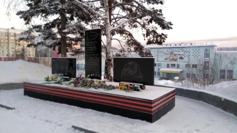 Мемориал солдатам Великой Отечественной Войны в Железногорске-Илимском