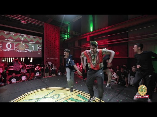 HipHop Kingz Festival 2018 | Sarcellite ( FR ) vs Pigeons ( NL ) | FINAL Crew battle