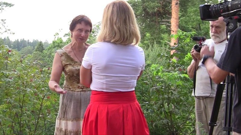 Телеканал «Царьград» снимает репортаж о Звенигородском заказнике