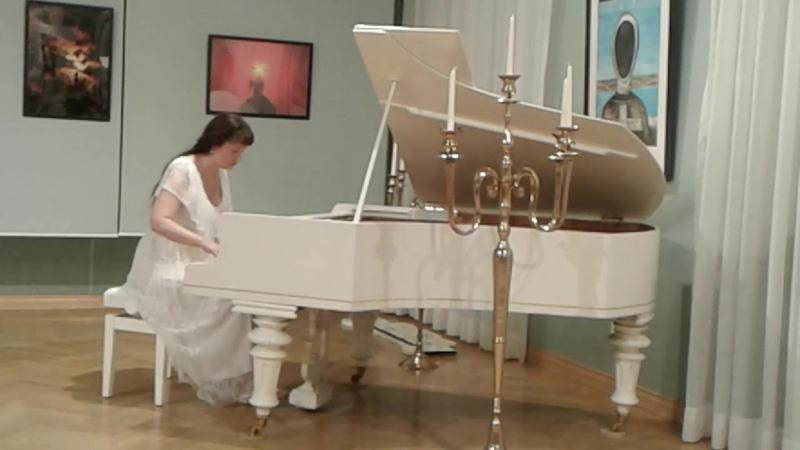 Инна Силенок Фортепианная импровизация на портрет дамы в черной шляпе В.Ф. Граве
