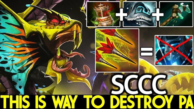 SCCC [Venomancer] This is way to Destroy PA 7.21 Dota 2