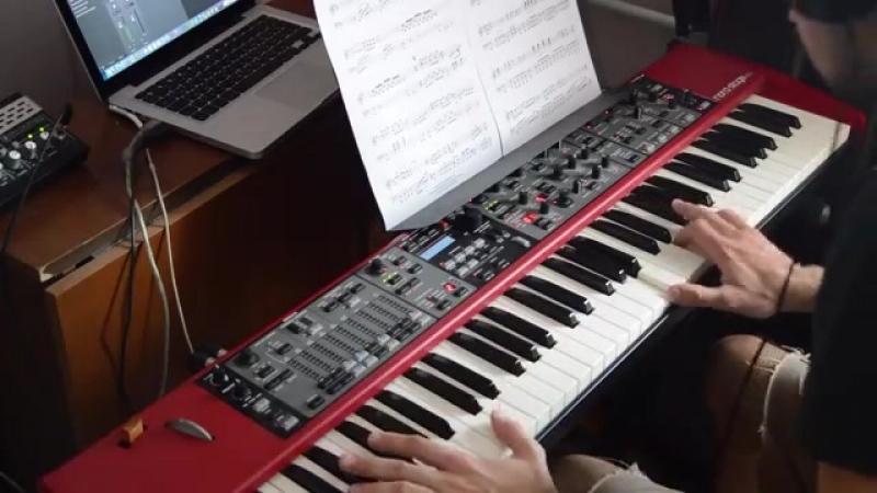 Secret Service – Aux Deux Magots (piano cover)