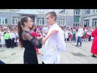 Танець випускників ЗСШ № 9 М.Стрия 2018 р