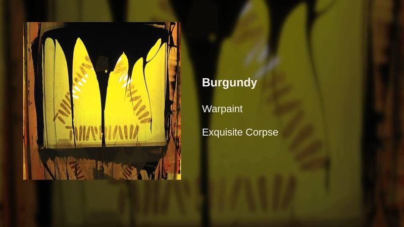 Warpaint - Burgundy