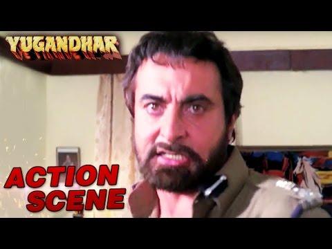 Kabir Bedi Betting Paresh Rawal Action Scene Yugandhar Mithun Sangeeta Bijlani HD