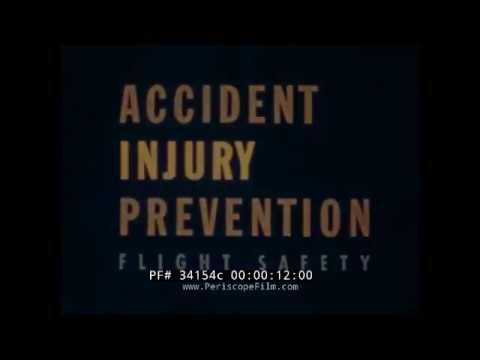 U S NAVAL AVIATOR ACCIDENT INJURY PREVENTION UPA CARTOON INDESTRUCTIBLE SMITH PETTIBONE 34154c