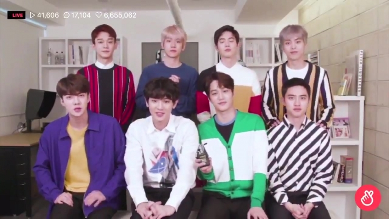"""180525 EXO support message for Chanyeol Sehun in """"Secret Queen Makers"""" Web Drama"""