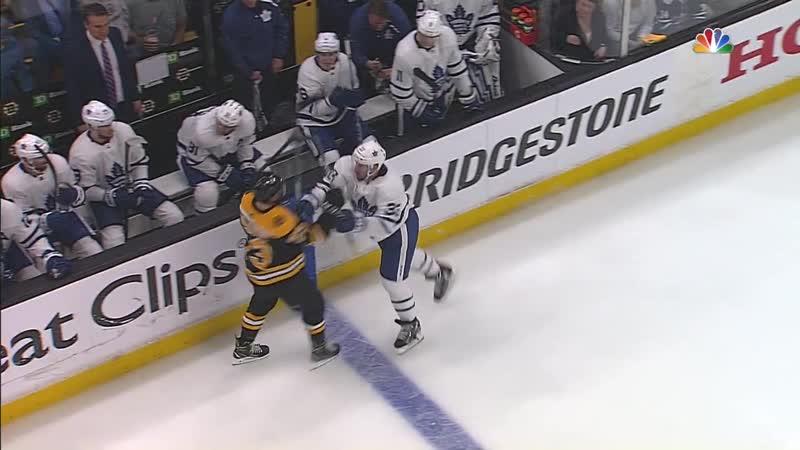 NHL 1819, SC, EC Round 1, Game 2. Toronto Maple Leafs - Boston Bruins [13.04.2019, NBC]