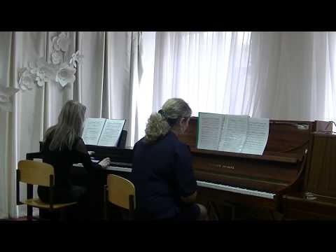 969 Раевская А А Фофанова Н П г Калтан Фантазия на темы Ф Э Баха и А Вивальди