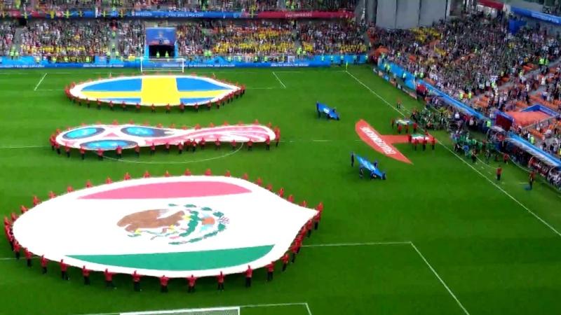 27 июня Мексика - Швеция [Чемпионат мира 2018]
