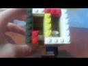 КАК СДЕЛАТЬ КОНФЕТНЫЙ АВТОМАТ ИЗ ЛЕГО! Конфетница из конструктора lego своими руками
