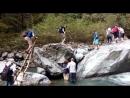 Одна из шести переправ через Ниносхеви по дороге на Гургенианский водопад