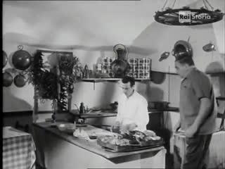 Документальный фильм о пицце в Неаполе 1967 год.