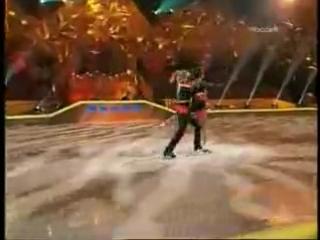 Танцы на льду под Азербайджанскую музыку. Вазген Азроян и Анастасия Гребенкина.
