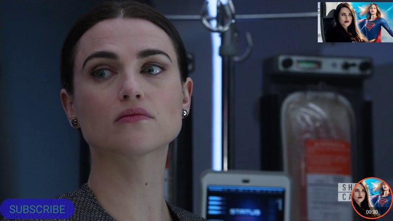 Supergirl 3x15 Lena,Sam opening scene part 1