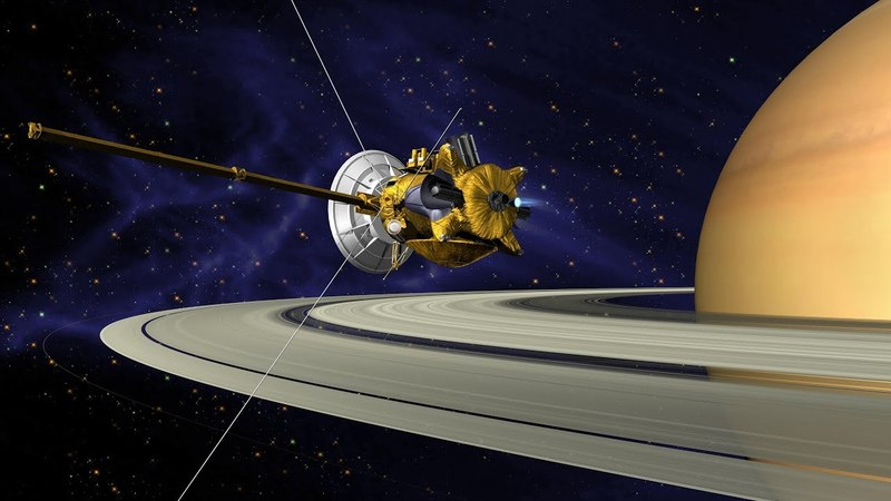 Saturn Space Documentary – The Cassini Probe Crashes Into Saturn