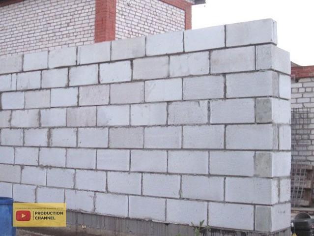 Строительство стен дома