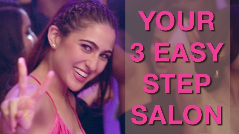 Veet Cold Wax Strips PullItOff Sara Ali Khan Crash the party