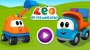 Jeux d'assemblage pour enfants avec Léo le camion curieux et les véhicules