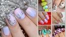 Дизайн гель лаком на коротких ногтях Весенний маникюр Цветы 2018 Подборка идей на короткие ногти