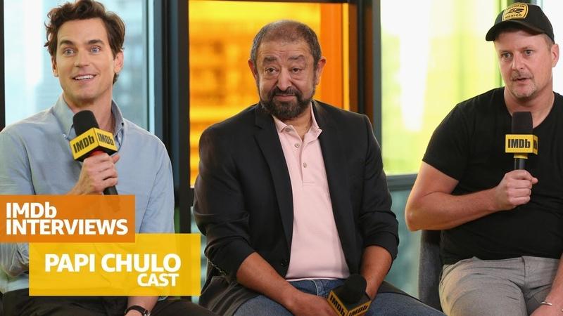 'Papi Chulo' Stars Matt Bomer and Alejandro Patiño Crack Up Toronto   TIFF 2018
