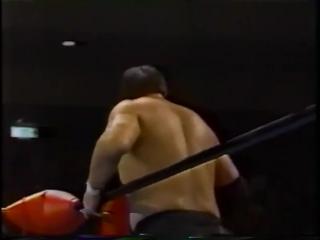 1991.12.04 - Akira Taue/Jumbo Tsuruta vs. Dan Kroffat/Doug Furnas [JIP]