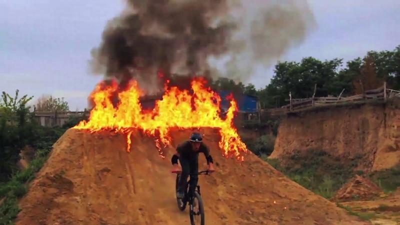 Khorol, Dirt Jump, Pump Track Competititon 2018 Bike park LIfe On Dirt