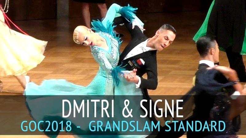 Dmitri Kolobov Signe Busk Медленный фокстрот GOC2018 GrandSlam STANDARD