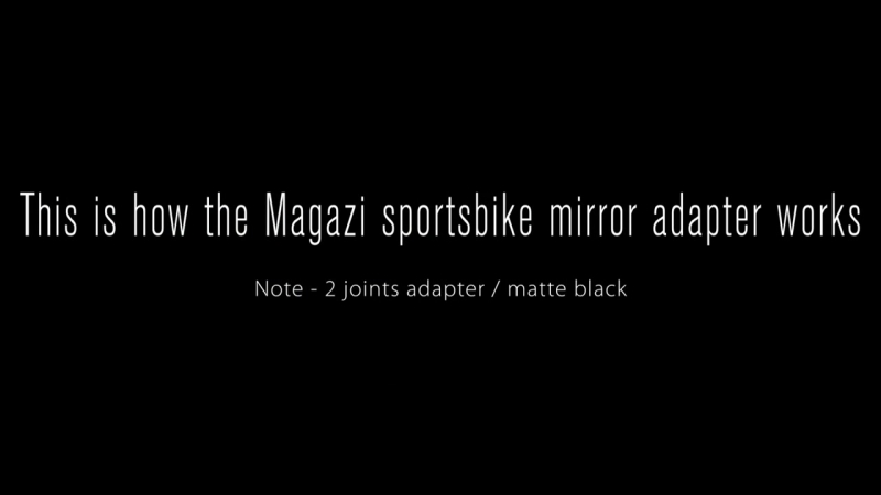 Fin Green Fairing Mount Rearview Mirrors for Sportsbike Motorcycle Magazi - KiWAV