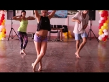 Марта Ханна и Константин Морозков - Футворк Salsa (под музыку) - Crimean Fiesta 2014. День 1