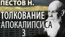 Последние времена Откровение Толкование Апокалипсиса 3 Пестов Николай